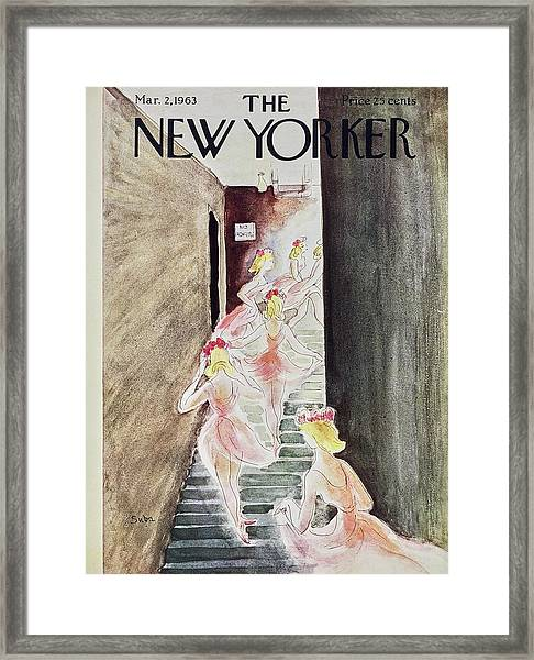 New Yorker March 2nd 1963 Framed Print