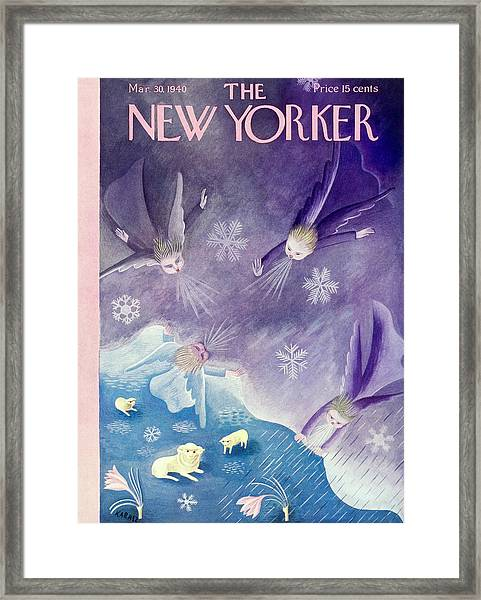 New Yorker March 30 1940 Framed Print