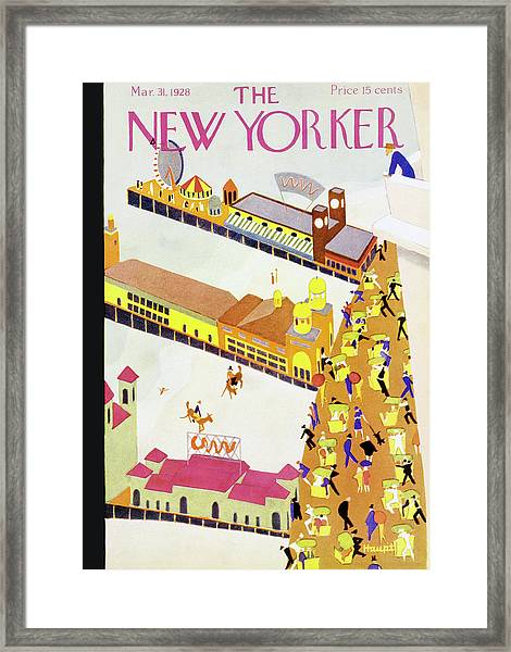 New Yorker March 31 1928 Framed Print