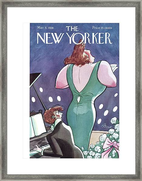New Yorker March 3rd, 1928 Framed Print