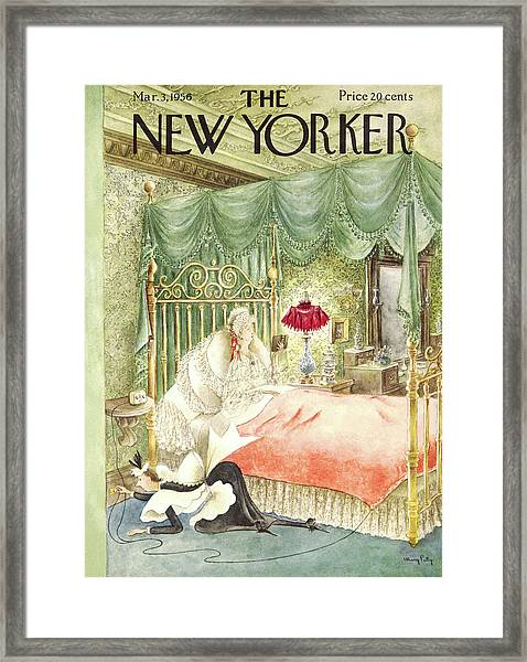 New Yorker March 3rd, 1956 Framed Print
