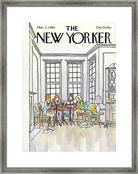 New Yorker March 3rd, 1980 Framed Print
