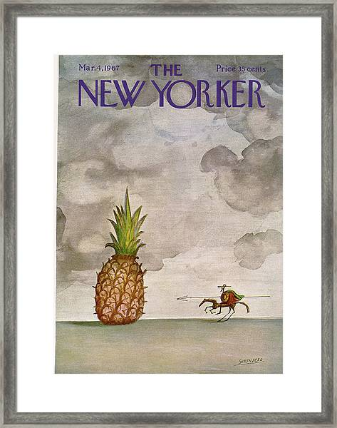 New Yorker March 4th, 1967 Framed Print