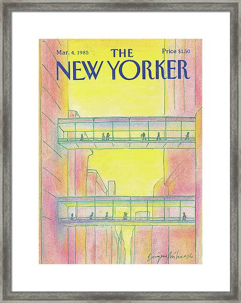New Yorker March 4th, 1985 Framed Print