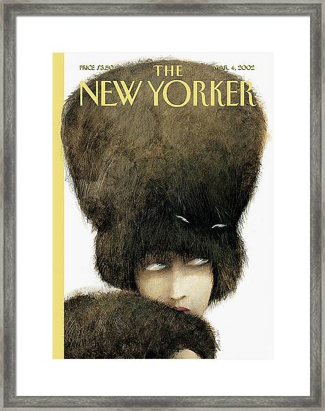 New Yorker March 4th, 2002 Framed Print