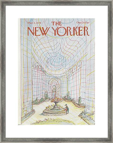 New Yorker March 5th, 1979 Framed Print