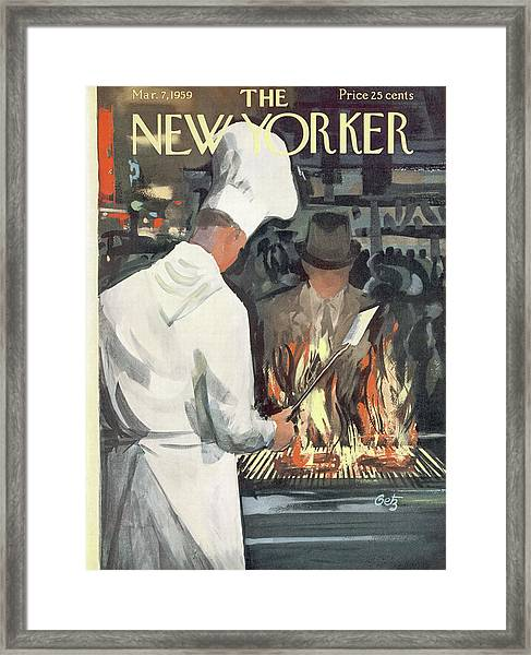 New Yorker March 7th, 1959 Framed Print