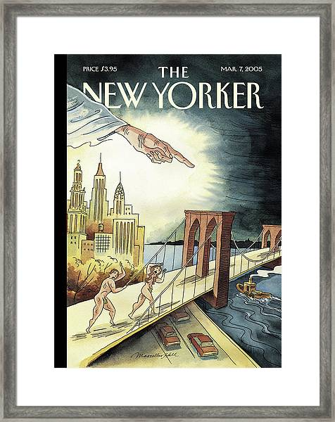 New Yorker March 7, 2005 Framed Print