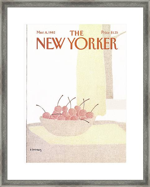 New Yorker March 8th, 1982 Framed Print