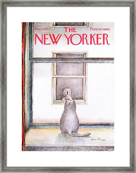 New Yorker May 12th, 1973 Framed Print by Andre Francois