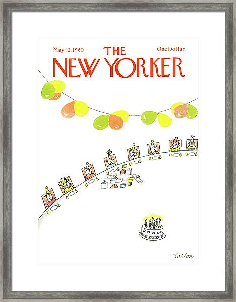 New Yorker May 12th, 1980 Framed Print