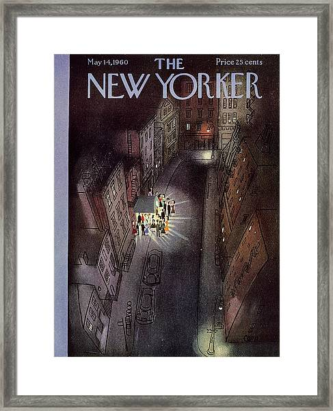 New Yorker May 14th 1960 Framed Print