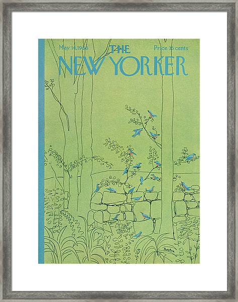 New Yorker May 14th, 1966 Framed Print