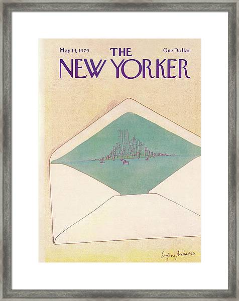 New Yorker May 14th, 1979 Framed Print