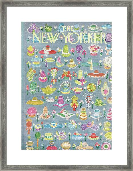 New Yorker May 15th, 1965 Framed Print