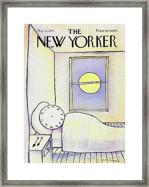 New Yorker May 15th 1971 Framed Print by Andre Francois