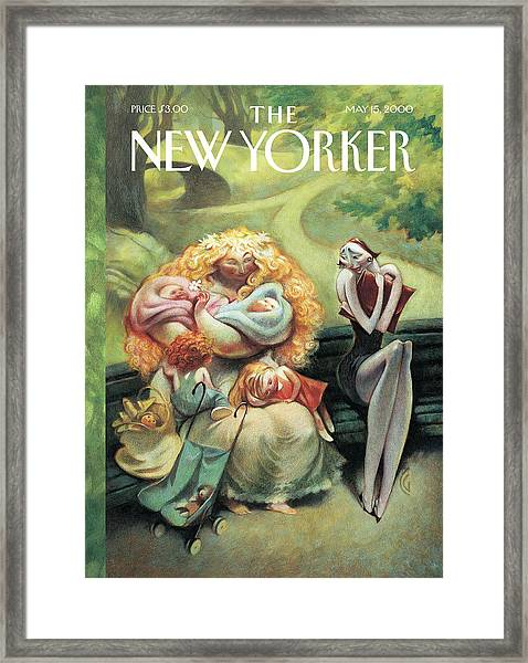 New Yorker May 15th, 2000 Framed Print