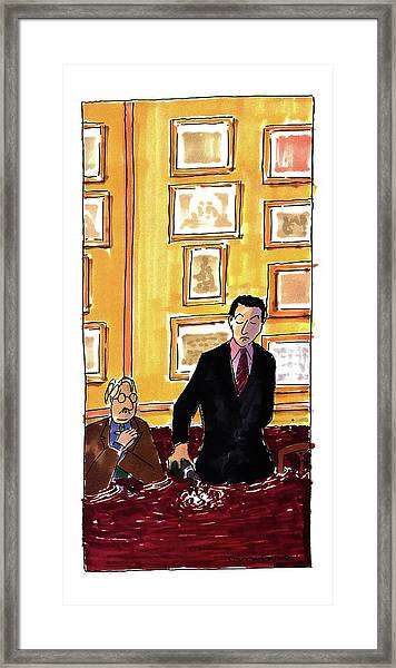 New Yorker May 16th, 1994 Framed Print
