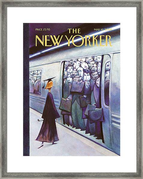 New Yorker May 16th, 2005 Framed Print