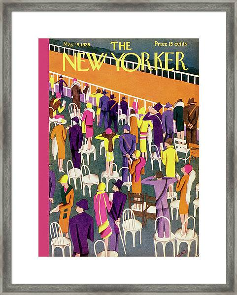 New Yorker May 19 1928 Framed Print