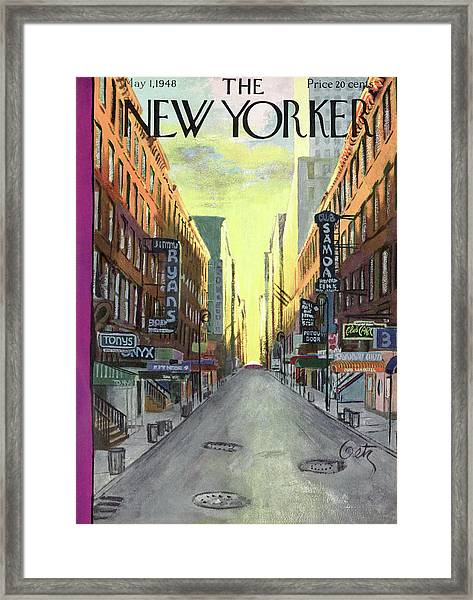 New Yorker May 1st, 1948 Framed Print