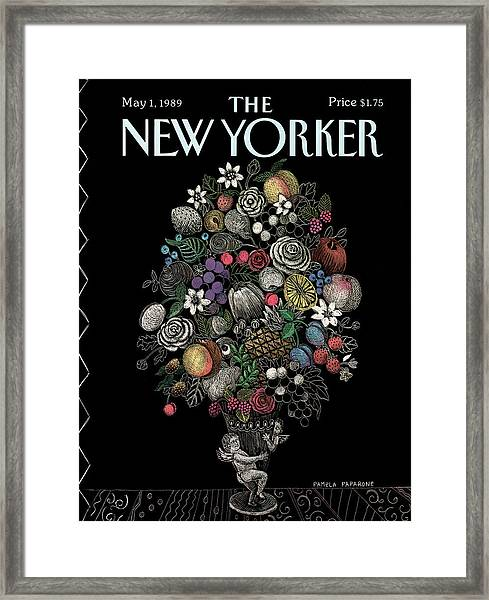 New Yorker May 1st, 1989 Framed Print