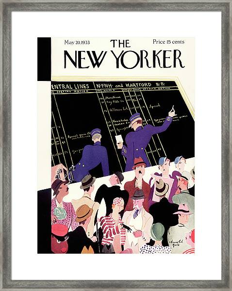 New Yorker May 20th, 1933 Framed Print