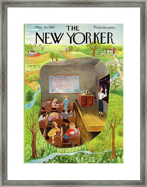 New Yorker May 20th, 1950 Framed Print