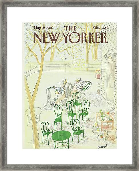New Yorker May 20th, 1985 Framed Print