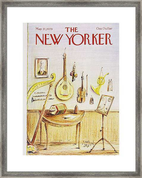 New Yorker May 21st 1979 Framed Print by Paul Degen