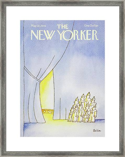 New Yorker May 22nd 1978 Framed Print