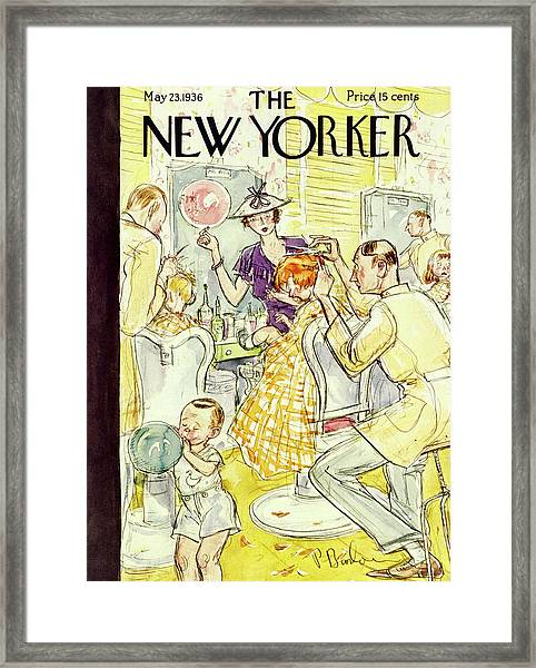 New Yorker May 23 1936 Framed Print