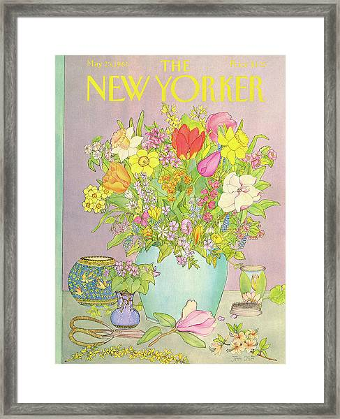 New Yorker May 25th, 1981 Framed Print