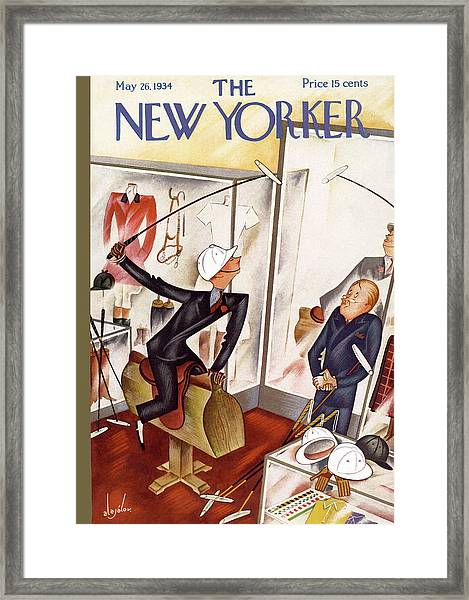 New Yorker May 26th, 1934 Framed Print