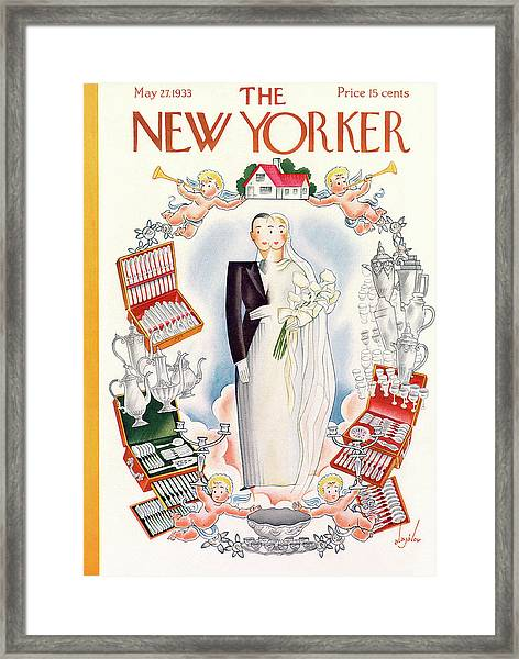 New Yorker May 27th, 1933 Framed Print