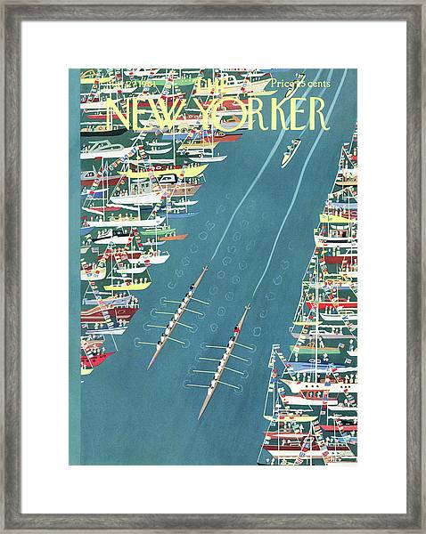 New Yorker May 27th, 1961 Framed Print