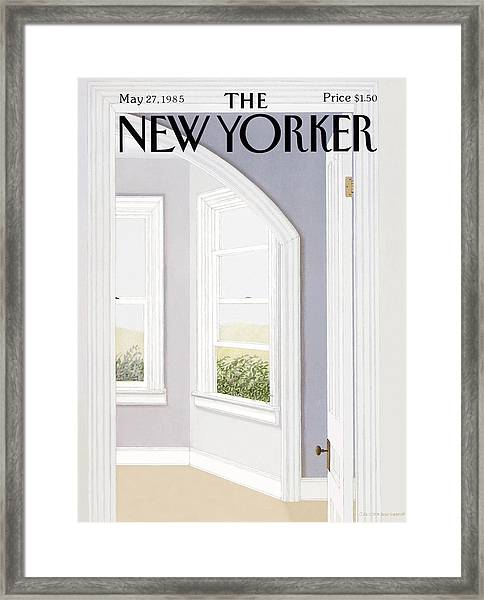New Yorker May 27th, 1985 Framed Print by Gretchen Dow Simpson
