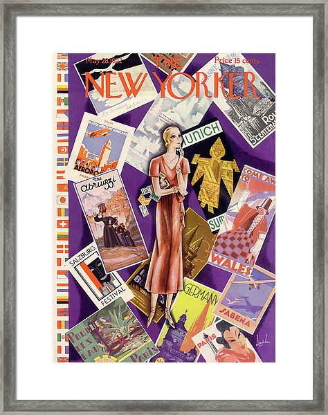 New Yorker May 28th, 1932 Framed Print