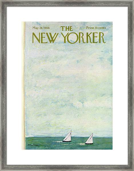 New Yorker May 28th, 1966 Framed Print