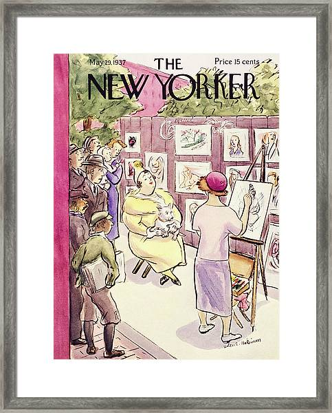 New Yorker May 29 1937 Framed Print