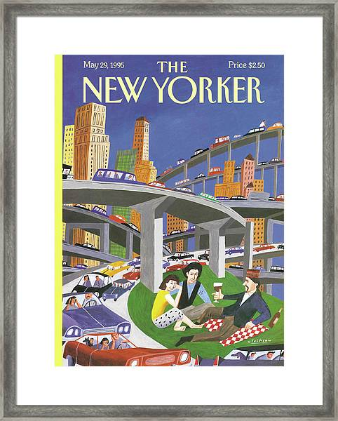 New Yorker May 29th, 1995 Framed Print