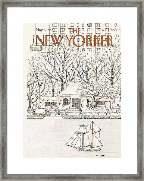 New Yorker May 2nd, 1983 Framed Print