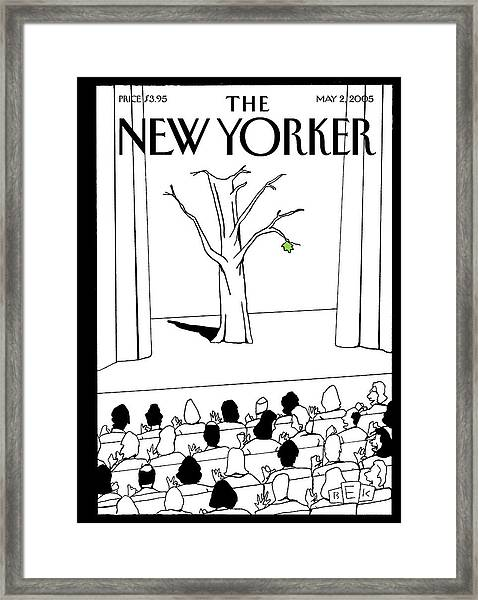 New Yorker May 2nd, 2005 Framed Print