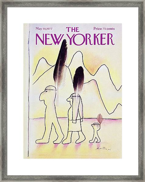 New Yorker May 30th 1977 Framed Print by Andre Francois