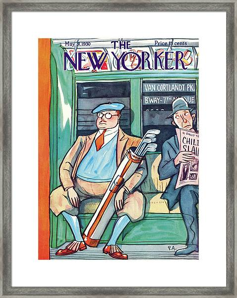 New Yorker May 31st, 1930 Framed Print