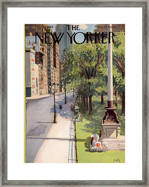 New Yorker May 31st, 1958 Framed Print