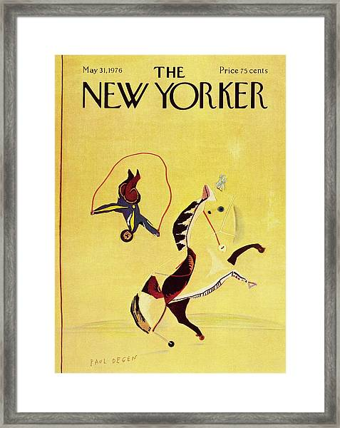 New Yorker May 31st 1976 Framed Print