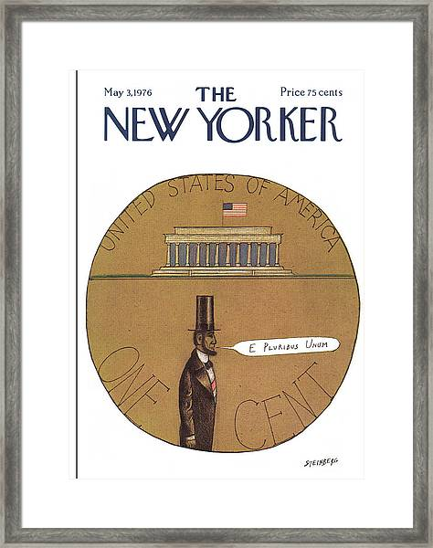 New Yorker May 3rd, 1976 Framed Print