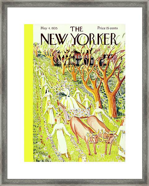 New Yorker May 4 1935 Framed Print