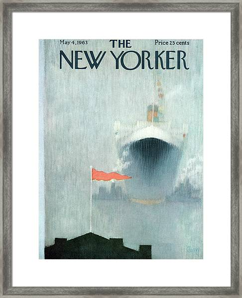 New Yorker May 4th, 1963 Framed Print